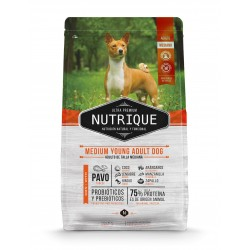 Nutrique Medium Young Adult Dog Perro Adulto 12 Kg