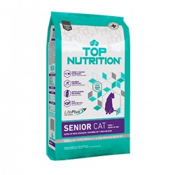 Top Nutrition Gatos Senior x 400 grs