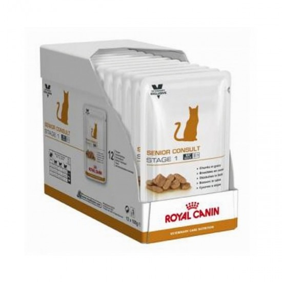 Royal Canin Senior Consult - Stage 1 (12 x 100gr) x CAJA