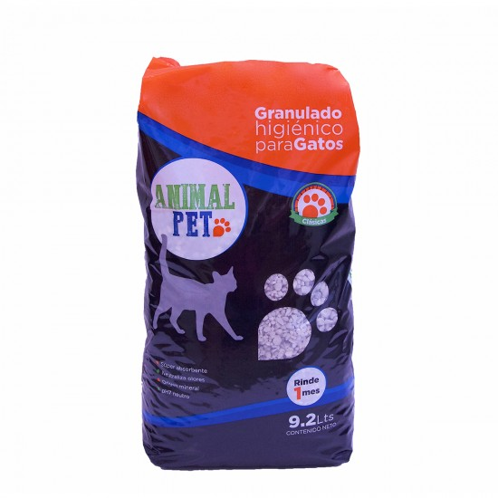 Animal Pet Piedras sanitarias x 9.2 Lts.