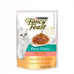 Purina Fancy Feast Petit Filet Salmon x85g