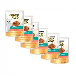 Purina Fancy Feast Petit  Filet Salmón Caja (15 x 85 grs)