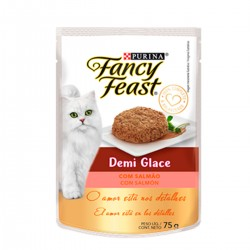 Purina Fancy Feast Demi Glace Salmón x 85 grs