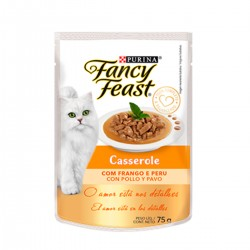 Purina Fancy Feast Casserole Pollo y Pavo x 85 grs